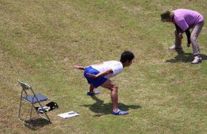 上村選手と一緒に身体を動かそう〔6月12日〕