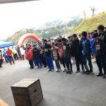 2019 11/8 白馬中学校主催 オリパラDAY 白馬国際ミニオリンピックトレイルラン